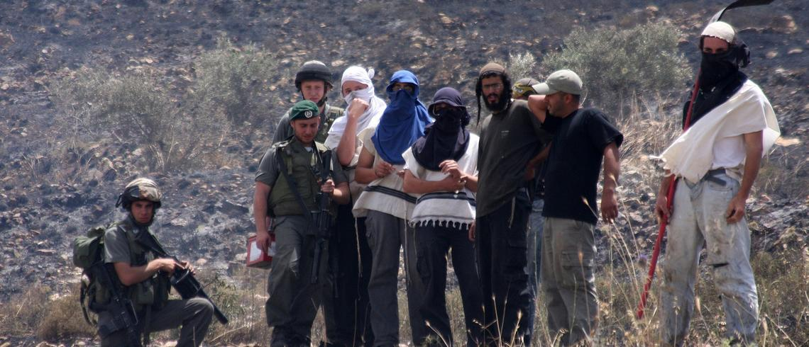 This is how Israel uses its own people as human shields
