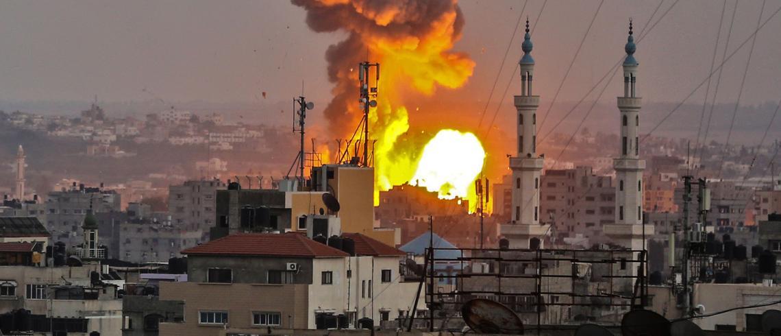 Anadolu Agency journalists defiant after Israel bombs Gaza office