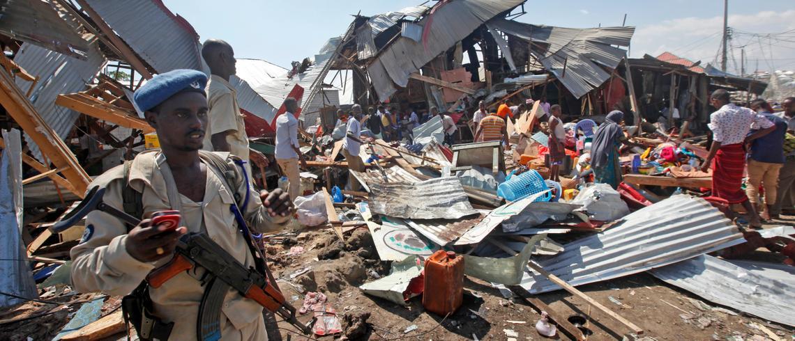 Image result for Terrorising the victims of terror in Somalia