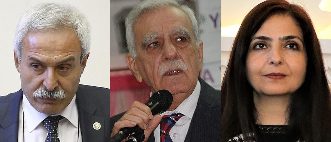 Why have HDP mayors been removed in three provinces in Turkey?
