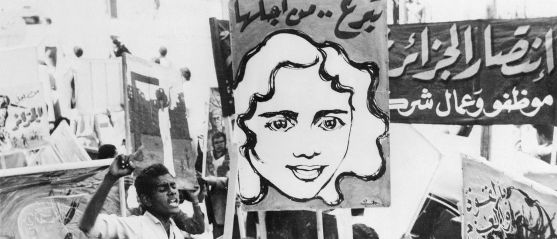 Intalnirea femeii in Algeria