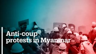 Anti-coup protests continue in Myanmar despite deadly crackdown