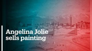 Angelina Jolie sells rare painting by Winston Churchill