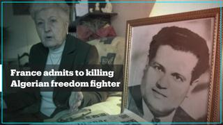 French President admits troops 'murdered' Algerian freedom fighter