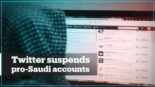 Twitter suspends thousands of pro-Saudi accounts