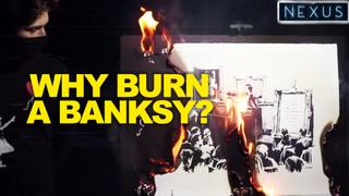 3/3: Burning Bansky and Non Fungible Tokens