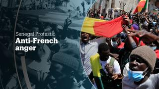 SENEGAL PROTESTS: Anti-French anger