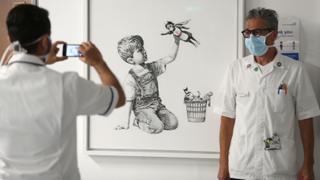 Banksy artwork rakes in record $20M for UK health service | Money Talks