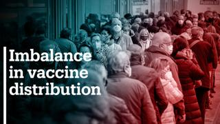 WHO slams vaccine disparity between rich and poor nations