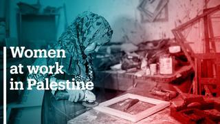Palestinian women make a living in tough economic times