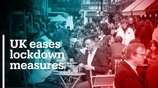 UK eases Covid-19 lockdown restrictions