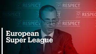 Football world reacts to breakaway elite European league