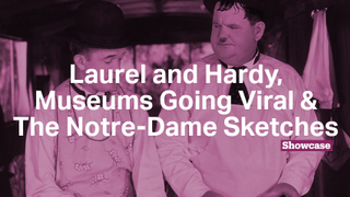 Museums Going Viral | Laurel and Hardy | The Notre-Dame Sketches
