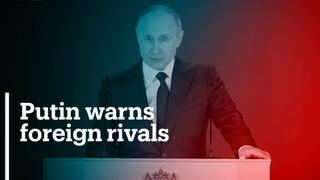 Putin warns countries not to cross 'red line' with Russia