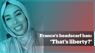 TikTok users react to new headscarf ban in France