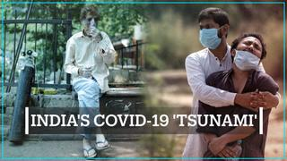 India battles a severe second wave of the coronavirus
