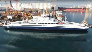 Turkish shipbuilder exports world's largest electric ferry | Money Talks