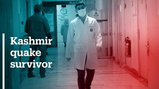 Kashmir quake survivor studying in Turkey to become a doctor