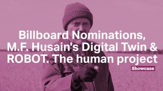 Billboard Nominees | M.F. Husain's Digital Twin | ROBOT. The human project
