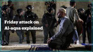 Over 200 Palestinians injured as Israeli police storm Al Aqsa