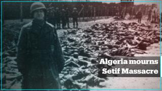 Algeria's first National Remembrance Day for the Setif Massacre