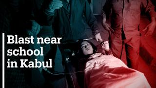 Explosion near school in Kabul leaves scores dead, including students