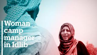 Women take lead roles in Syrian refugee camps