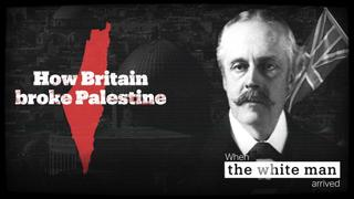 Britain's role in the occupation of Palestine