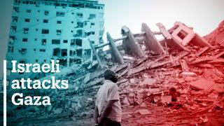 Israeli attacks kill at least 35 in the blockaded Gaza