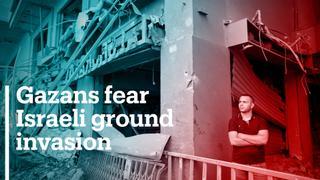 Gazans fear ground invasion as Israeli attacks intensify