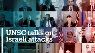 UNSC holds virtual talks on Israeli attacks