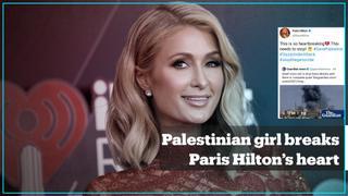 Paris Hilton deletes tweet supporting Palestinians