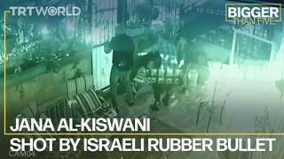Shot by an Israeli Rubber Bullet | Bigger Than Five
