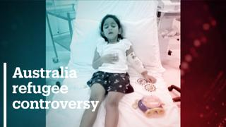 Govt under fire for neglecting severely ill child refugee