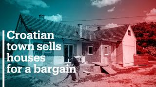 Croatian town sells houses for a bargain