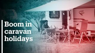 Caravans hit the road for the Turkish summer