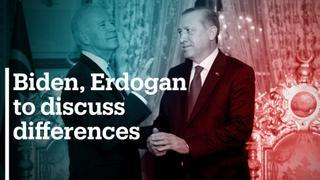 Erdogan and Biden to discuss their differences in Brussels