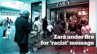 Zara head designer's 'racist' anti-Palestinian message ignites backlash