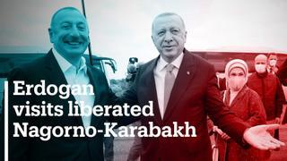 Turkish President Erdogan visits liberated Nagorno-Karabakh