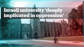 University of Manchester staff demand end to Israeli university ties