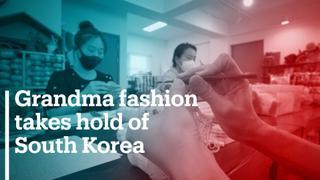 Grandma fashion takes hold of South Korea