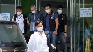 Hong Kong police arrest editors under national security law   Money Talks