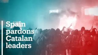Spain pardons nine Catalan leaders jailed over independence bid