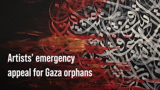 International artists' emergency appeal for orphans in Gaza