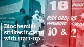 Biochemist strikes it clean with start-up