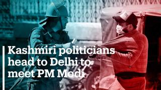 Kashmiri politicians head to Delhi to meet PM Modi