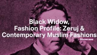 Contemporary Muslim Fashions | Black Widow | Fashion Profile: Zeruj