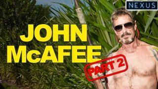 John McAfee reveals Bitcoin inventor plus - not Jeffrey Epstein
