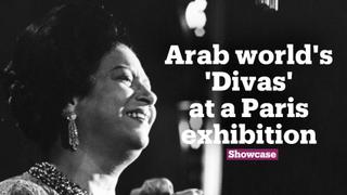 Arab world's 'Divas' at a Paris exhibition