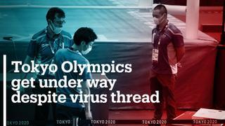 Tokyo Olympics get under way despite Covid-19 threat